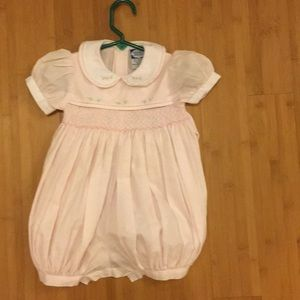Other - Carriage Boutique Smocked Romper